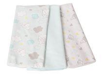 Disney Dumbo 3 Pack Receiving Blankets
