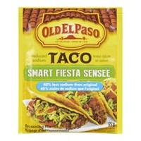 Old El Paso™  Taco  Less Salt Smart Fiesta Seasoning Mix