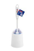 Vileda Powerfibres 3-in 1 Deluxe Toilet Brush And Caddy