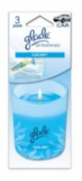 Glade Candle 3pk Clean Linen