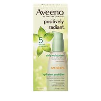 Aveeno® Active Naturals Postively Radiant® SPF 30 Daily Moisturizer Lotion