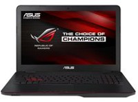 Ordinateur portable de jeu GL551 Republic of Gamers d'ASUS de 15,6 po avec processeur Intel Core i5-6300HQ à 2,3 GHz