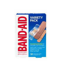 Band-Aid Brand Comfort-flex Adhesive Bandages, Variety Pack