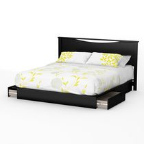 South Shore SoHo King Platform Bed with Drawers and Headboard -78 inch Set
