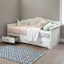 South Shore Tiara 39-inch Twin Daybed with Storage