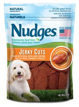 Nudges® Jerky Cuts Real Duck and Chicken Dog Treats