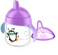 Philips Avent Premium Spout Penguin Cups Purple