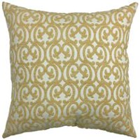 Coussin décoratif hometrends Volute d'or
