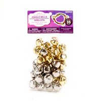 Horizon Group USA 20mm Gold & Silver Jingle Bells