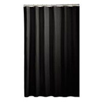 Mainstays Fabric Shower Liner BLACK / NOIR