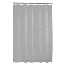Mainstays Heavyweight 10G Shower Curtain Liner Grey
