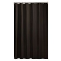 Mainstays Microfiber Fabric Shower Curtain Liner Coffee Bean
