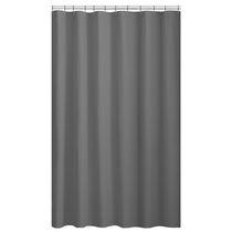 Hometrends Textured Microfiber Fabric Shower Curtain Liner