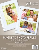 Magnetic Photo Album Refill Pages
