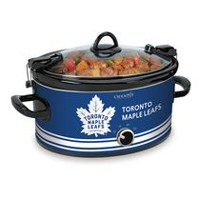 Crock-Pot NHL 6Qt Manual Cook & Carry Slow Cooker Blue