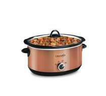 Crock-Pot 6 QT Manual Slow Cooker Copper