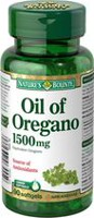 Nature's Bounty Oil of Oregano 1500 mg Liquid Softgels