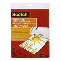 Scotch® 3 mm Thermal Laminating Pouches