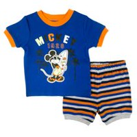 Disney Mickey Boys' 2 Piece Pyjamas Set 3-6 months