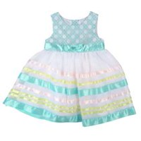 George baby Girls' Striped Skirt Dress 18-24 months