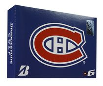 Bridgestone Montreal Canadiens E6 Golf Ball