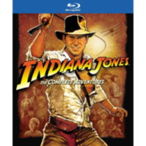 Indiana Jones: The Complete Adventures - The Raiders Of The Lost Ark / The Temple Of Doom / The Last Crusade / The Kingdom Of The Crystal Skull (Blu-ray) (Bilingual)