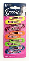 Goody  Girls Snap Clips - Assorted