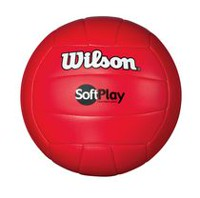 Ballon de volleyball Soft Play de Wilson - Rouge
