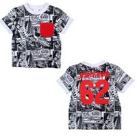 Spiderman Boys' All over Printed T-Shirt 3T