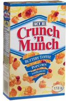 Crunch 'n Munch® Buttery Toffee with Peanuts Ready-to-Eat Popcorn