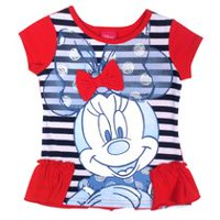 Disney Minnie Girls' Ruffle Tunic 3T