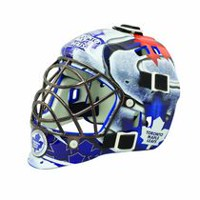 Franklin Sports LNH Masque de gardien mini de la série d'équipe Maple Leafs de Toronto