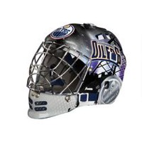 Franklin Sports NHL Team Series Edmonton Oilers Mini Goalie Mask