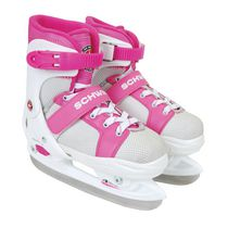 Schwinn Adjustable Skate - 3-6, Pink and White