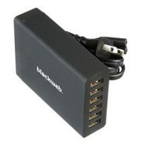 blackweb 6-Port USB Wall Charger