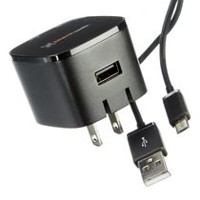 blackweb 2-in-1 Micro USB Wall Charger Kit
