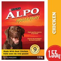 Purina® Alpo® Moist & Meaty™ Made with Real Chicken Dog Food