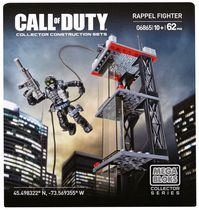 Mega Bloks – Call of Duty – Ghosts Rappel Fighter (6865)
