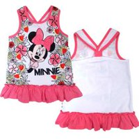Disney Minnie Girls' Ruffle Tank Top 2T