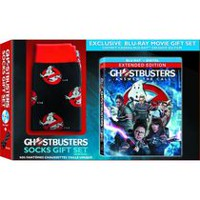 Ghostbusters (Blu-ray + Digital HD + Ghostbusters Socks) (Walmart Exclusive)