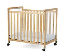 Foundations Compact Clear Crib