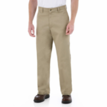 Wrangler Comfort Solution Series Flat Front Casual Pants 32X32