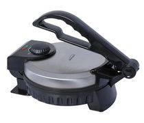 Brentwood Stainless Steel Non-Stick Electric Tortilla Maker