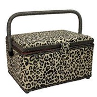 Sewing Essentials Sewing Basket - Medium 10 x 7.5 x 5.7""