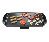 Brentwood Electric Griddle with Drip Pan, Black
