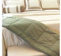 Royal Elite 233 Thread Count Twin/Double Down Throw Deep Mint