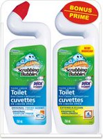 Scrubbing Bubbles Toilet Bowl Cleaner w/EAC + Toilet Duck Original 2pk VP