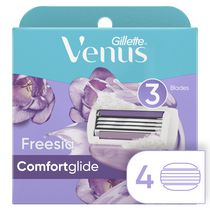 Gillette Venus Breeze Women's Freesia Scented Razor Refills