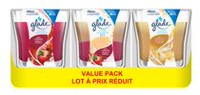 Glade 3 Pack Jar Candle