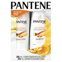 Pantene Pro-V Daily Moisture Hydrating Renewal Full and Strong Shampoo and Conditioner Dual Value Pack